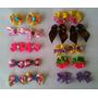 Kit 100 Laços Petshop + 30 Gravatas Estampadas Banho E Tosa