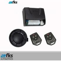 Alarme Plus Fks Automotivo Fk902 2 Controles Universal Carro