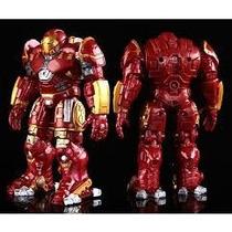 Boneco Homem De Ferro Hulk Buster Avengers Titan Hero 18 Cm