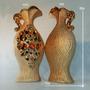 Vaso Jarro De Pedraria Luxo De Cerâmica Decorativo +barato