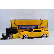 Camaro Amarelo Controle Remoto, Recarregavel 1:14/4