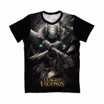 Camiseta Leagues Of Legends Azir - Camisa Games Anime