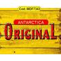 Quadros Rusticos Cerveja Original Brahma Antarctica