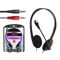 Fone Ouvido Stereo Microfone Lan House Pc Km500 Slim Oletech