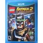 Lego Batman 2 Dc Super Heroes - Nintendo Wii U - Lacrado.