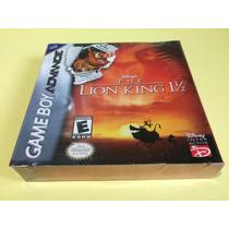 The Lion King 1 1/2 Original Lacrado P/ Game Boy Advance Gba