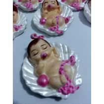 Lembrancinha Chá De Bebê/fralda E Maternidade Menina 50 Peça