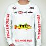 Camisa De Pesca Personalizada Nome Pescador