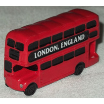 Mini London Bus Ônibus 2 Andares Londres Ponteira De Lápis