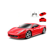 Carrinho Controle Remoto Ferrari 458 Italia 7 Funções 1/24