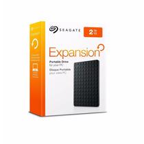 Hd Externo Seagate Expansion 2tb Portatil 3.0 E 2.0 Preto