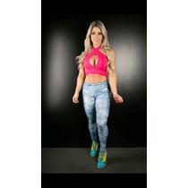 Legging Jeans Hipkini Vince - Imita Jeans Promoção Juju