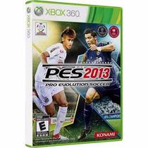 Pes 2013 (futebol) - Jogo Para O Xbox 360 Original - Lacrado