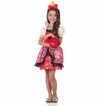 Fantasia Ever After High - Apple White Luxo Tam M (6 A 8)