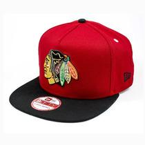 Boné New Era Snapback Chicago Blackhawks Turnover Vermelho