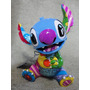 Romero Britto Disney Stitch - 18 Cm - Do Filme Lilo E Stitch