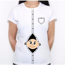 Camiseta Blusa Gestante Gravida Temos Outras Estampas