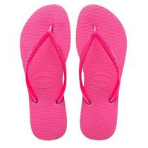 Chinelo Havaianas Slim Feminino Original Pink Clique+