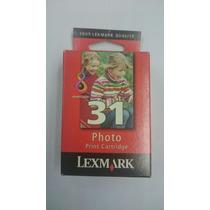 Cartucho Original Lexmark Fotográfico - 31
