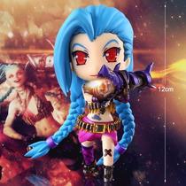 Boneco Action Figure Jinx Lol League Of Legends