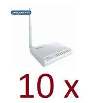 Kit Com 10 Wr-2500hp Roteador Wireless Greatek 1000mw