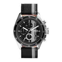 Relógio Masculino Fossil Decker Ch2959/8cn - Pulseira Nylon