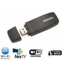 Adaptador Wireless Pta01 P/ Tvs Philips Smart, Pc E Notebook