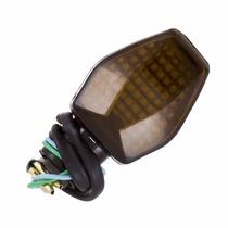 Pisca De Moto Esportivo Universal Mini Hornet (par) Fumê