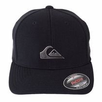 Boné Quiksilver Metal Patch Flexfit Balck