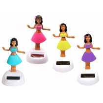 04 Bonecas Havaianas Hula Hula Doll - Dança A Luz Solar Surf