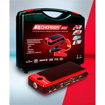 Ez Charger Bateria Auxiliar De Partida Automotiva 16500 Mah