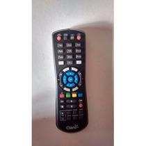 Controle Remoto Claro Tv Hd Via Embratel Hd Original Preto