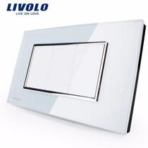 Espelho Cego Livolo Acabamento Vidro Branco
