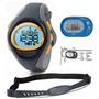 Kit Monitor Cardíaco Oregon Se102 L + Pedômetro Pe320