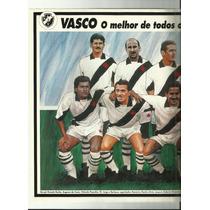 Poster Vasco O Melhor De Todos Os Tempos 1994 Placar