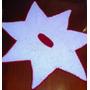 Tapete De Croche Forma De Estrela7 Pontas Novo Mede 1m X 1 M