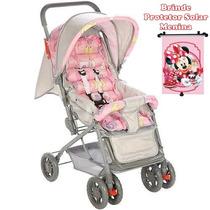 Carrinho De Bebê Funny - Rosa - Voyage