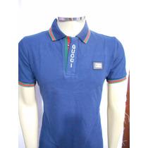e4ddceae98 Camisa Polo Gucci Slim Fit Masculino - Original Pta. Entrega à venda ...