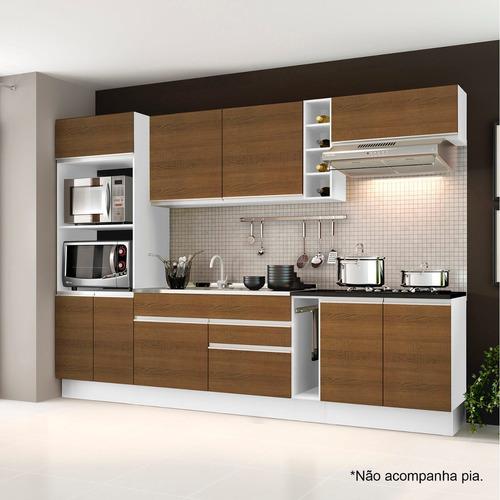 Cozinha Completa Vicenza Madesa - Não Acompanha Tampo