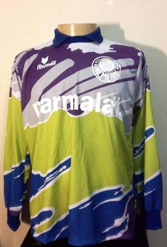 Camisa Di Retrô Goleiro Palmeiras Rhumell Scudetto 93 70c7d6d04e679