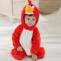 Macacão Bebe Inverno Importado Angry Birds Frete Gratis