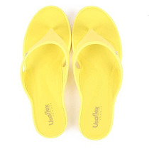 Chinelo Conforto Feminino Usaflex - Amarelo
