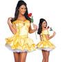Fantasia Feminina Adulta Princesa Bela E A Fera Disney!