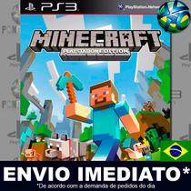 Minecraft Ps3 Edition - Ps3 - Psn - Totalmente Em Português