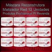 Cabeleireiro - Matizador Vermelho 12 Produtos Atacado