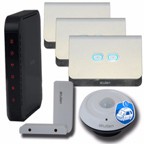 Kit Básico Automação Residencial Wulian Sensor Inteligente