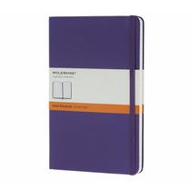 Caderno Moleskine Notebook Violeta Pautado Extra Peq 8457