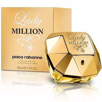 Perfume Lady Million Paco Rabanne 100 Original Lacrado 80 Ml