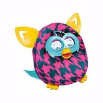 Furby Boom Sunny Hasbro Rosa - Pelúcia Em Português Promoção