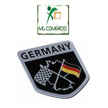Emblema Alemanha Racing Bmw Vw Jetta Golf Gol Fox Audi 3d